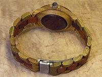 tenseアーバンモデル木製腕時計(グリーンサンダルウッド&サンダルウッド)