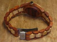 tenseアーバンモデル木製腕時計(サンダルウッド&メイプルウッド)