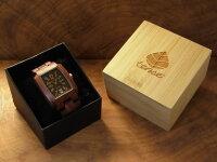 tense木製トノーI型腕時計(サンダルウッド)