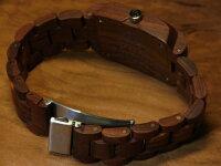 トノーIモデルNo.172木製腕時計(サンダルウッド)1971年創業のカナダ木工専門技を結集し、匠が創り上げたTENSE木製腕時計(ウッドウォッチ)。テンス社日本総輸入元公式販売サイト。【日本総輸入元のメンテナンス保証付】