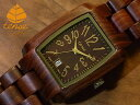 テンス【tense】トノーIモデル No.126 サンダルウッド使用1971年創業のカナダ木工専門技を結集し、匠が創り上げたTENSE木製腕時計(ウッドウォッチ)。テンス社日本総輸入元公式販売サイト。【日本総輸入元のメンテナンス保証付】
