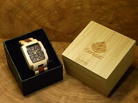 tenseトノーI型腕時計(サンダルウッド&メープルウッド)