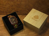 tenseトノーII型腕時計(サンダルウッド&グリーンサンダルウッド)