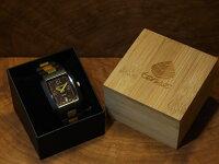 トノーII型腕時計(ダークサンダルウッド&グリーンサンダルウッド)