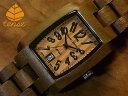 テンス【tense】トノー型モデルI No.350 ウォールナット使用1971年創業のカナダ木工専門技を結集し、匠が創り上げたTENSE木製腕時計(ウッドウォッチ)。テンス社日本総輸入元公式販売サイト。【日本総輸入元のメンテナンス保証付】