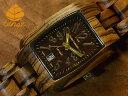 テンス【tense】トノーIIIモデル No.393 木製腕時計(ゼブラウッド)1971年創業のカナダ木工専門技を結集し、匠が創り上げたTENSE(テン..