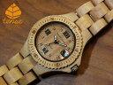 テンス【tense】プチアーバンモデル No.199 メイプルウッド使用1971年創業のカナダ木工専門技を結集し、匠が創り上げたTENSE木製腕時..