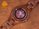 プレシャスモデル No.361 サンダルウッド使用1971年創業のカナダ木工専門技を結集し、匠が創り上げたTENSE木製腕時計(ウッドウォッチ)..