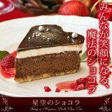 星空のケーキがハートになった♪構想1年、チョコ好きのための本格ショコラ登場!【】『星空のショコラ』!【楽ギフ包装】