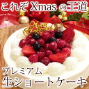 クリスマスケーキ 2017 送料無料 ショートケーキ 子供 デコレーションケーキ あす楽