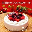 X'mas クリスマス ケーキ プレゼント ギフト本州 送料無料 ホワイトベリー 5号クリス