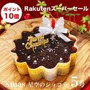 X'mas クリスマス ケーキ プレゼント 本州 送料無料星空のショコラ 5号ギフト スイーツクリス...