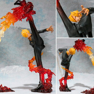 Figure figuarts ZERO one piece Sanji - Battle Ver... Devil 風脚 finishing touch shots
