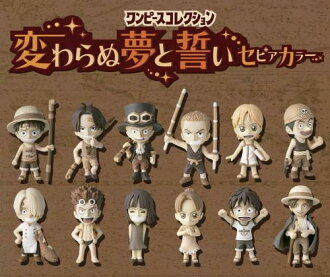 ONE PIECE one piece PVC dream and promise special sepia? s goods in stock.