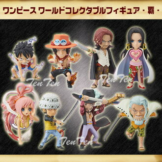 "One piece PVC figure ワンピースワールドコレクタブル figure supremacy all 8 species set? s goods in stock""."