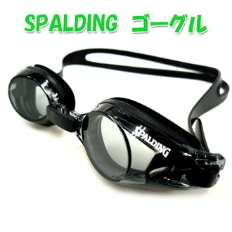 護目鏡水下眼鏡 • 斯波爾丁游泳護目鏡防霧鏡片 UV 切軟日本加工煙 / 黑色
