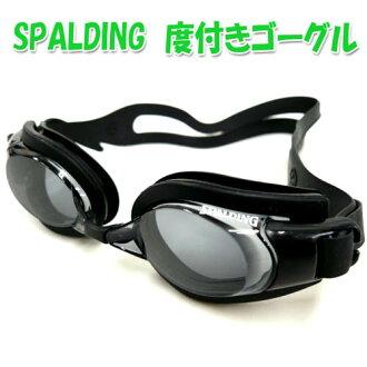 護目鏡水下與眼鏡護目鏡 S-6.00 健身健身游泳健身房 • 斯波爾丁度與游泳護目鏡成人防霧處理 UV 切在日本黑