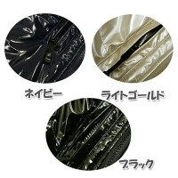 PU防寒ベストイベントベスト■光沢ジャンパー5299作業着イベントユニフォームお祭りに・・・MLLL黒