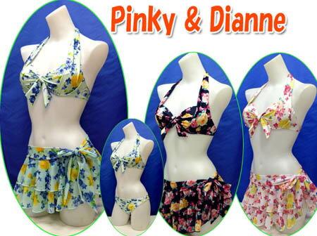 Pinky&Dianne(ピンキー&ダイアン)|水着 レディース 【送料無料】 ビキニ 9M Pinky & Dianne ( ピンキー&ダイアン) ワ...