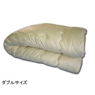 膨脹羊毛混紡羽絨被羊毛羊毛被褥雙 (顏色廚師) 日本製造的 190 × 210cmP14Nov15