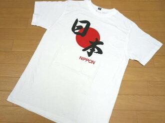 """T 恤""""日本""""日本太陽升起國旗白色短袖 t 恤漢字日本日本風格戰爭事件 M LL05P20Nov15 的紀念品"""