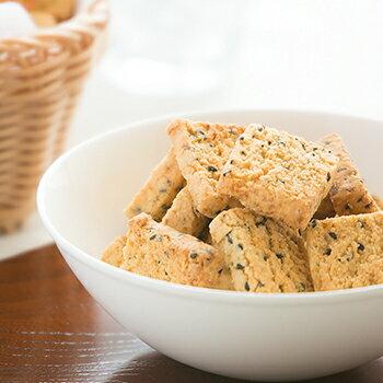 お豆腐屋さんの 豆乳おからクッキー ゴマ(1袋20枚) バター マーガリン 卵 牛乳 不使用 保存料 香料 無添加 ※約3〜7営業日以降発送