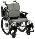 車椅子 自走式 低床 スリム コンパクト ノーパンクタイヤ仕様 松永製作所 NEXT-50B ネ
