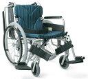 【一部送料無料】カワムラサイクルアルミ自走式車いすKA822-40(38・42)B-H 高床車椅子 車イ