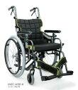 【条件付き送料無料】カワムラサイクル車椅子 車イスアルミ自走式車いす KM22-40SB-M 中床