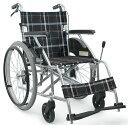 車椅子 自走式【ノーパンクタイヤ】カワムラサイクル KV22-40SB 中床ハイポリマータイヤ仕