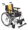【送料無料】ミキ 自走型 車いすノンバックブレーキMBY-47B車椅子 車イス