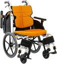 車椅子 介助式 軽量 スリム ノーパンクタイヤ仕様 松