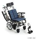 【送料無料】車椅子/車イス介助型車いすティルト&リ