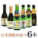 【お試し】夢の競演! 六蔵元 大吟醸酒 飲み比べセット 金賞...