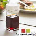 送料無料 プッシュ 醤油さし 醤油注ぎ しょうゆ差し ちょいかけ しょうゆさし プッシュ式 押し出し式 もれない 液体調味料 容器 調味料入れ 醤油 ソース 油 キッチン キッチン用品 オイル