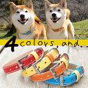 犬 首輪 犬の首輪 小型犬 中型犬 革 革製 皮 本革 レザー おしゃれ かわいい No3