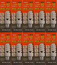 EFD15EL12-C6-10SET【あす楽対応】NECライティング 【特価品】【在庫品】コスモボール 一般電球60W相当タイプ 電球形蛍光ランプD形10個セッ...