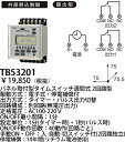 TB53201 送料無料!パナソニック タイムスイッチ タイムスイッチパネル取付型週間式 (2回路型)(別回路)(露出型)