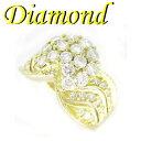 珠寶, 手錶 - 1-1904-02003 IDS ◆ K18 イエローゴールド デザイン リング ダイヤモンド 1.48ct 14号