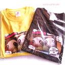 パンダ おにぎりTシャツ 黄/黒 2色 【パンダジュエリー】M/L