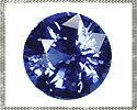 SAPB-RF-4 天然石鬆藍色藍寶石圓切一 4 毫米裸石
