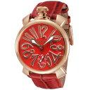 ガガミラノ GAGA MILANO / 腕時計 #501113s-red
