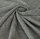 紡毛ツィード シャンブレーウール ポリエステル ナイロン カシミヤ アンゴラ ポリウレタンブラウン