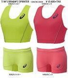 asics2015SS限定生産TI W'S BRA&SPRINTERランニングシャツ&パンツ10P05Oct15
