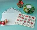 キャロルウィルソンCarol wilsonクリスマスカード:クリスマスキルトDEN6009