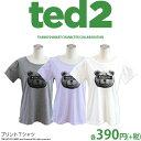 メール便OK1通180円 TED2 コラボ プリントTシャツ 目隠し サンキューマート//10