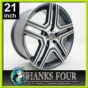 【新品・即納品】VT759 ガンメタルマシーンドベンツ W463 Gクラス ゲレンデ21x10J 5Hx130 +40 84.1【21インチアルミホイールタイヤ付き4本セット】