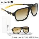 ポイント10倍以上 ic! berlin サングラス Power Law asia BLK-BR-BRS 62サイズアイシーベルリン パワーロー アジアンフィットメンズ レディース