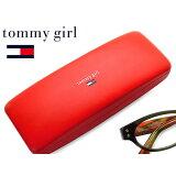 tommy girl(汤米女孩子)眼镜盒正常类型【明天音乐对应】[tommy girl(トミーガール)メガネケース ノーマルタイプ【あす楽対応】]