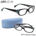 ポイント最大26倍 【Qbrick】(キューブリック) メガネ フレーム BTY7603 59サイズ スクエア BLAISE ブレーズキューブリック QBRICK メンズ レディース